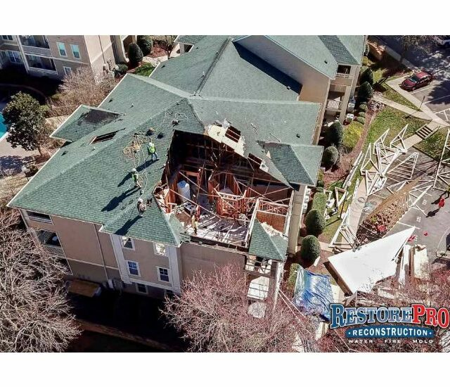 Commercial Storm Damage Repair in Durham, NC