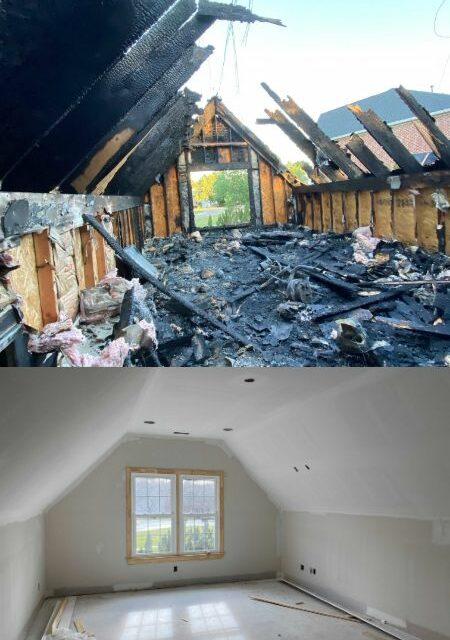 Fire Restoration in Durham, NC