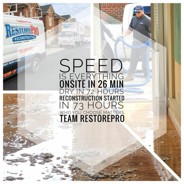 Water Damage Repair in Charlotte, NC