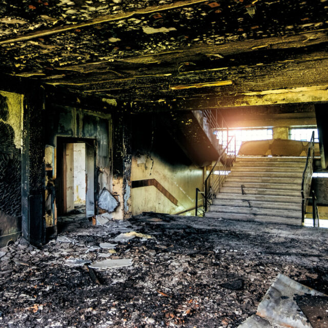 Commercial Fire Damage Restoration - Knoxville, TN