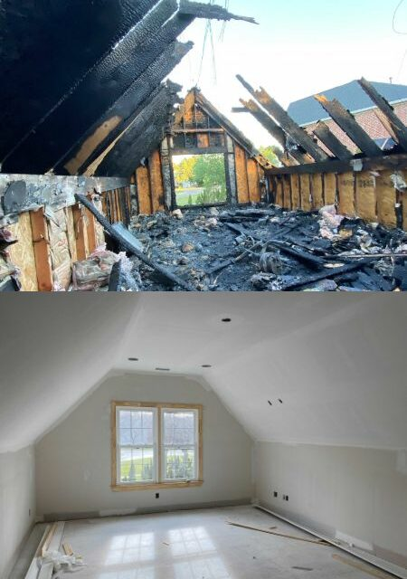 Residential Fire Damage Restoration - Knoxville, TN